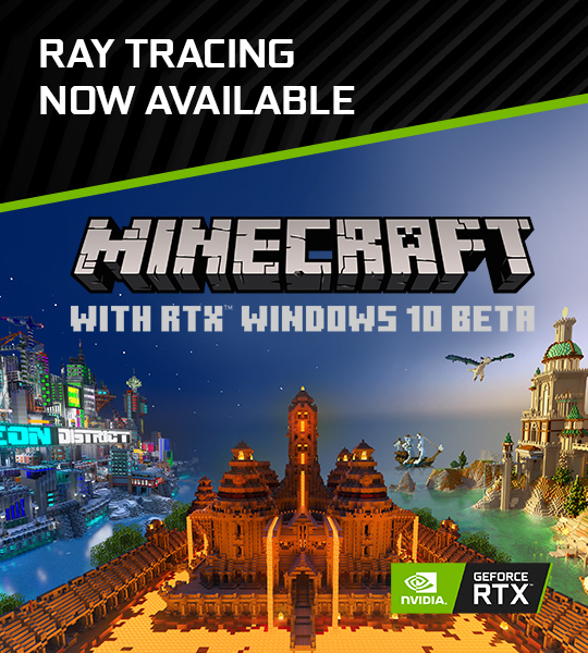 PLAY MINECRAFT WITH RTX