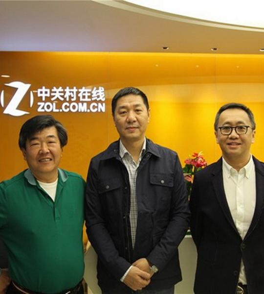 ZOL专访王锡豪 黄嘉宝