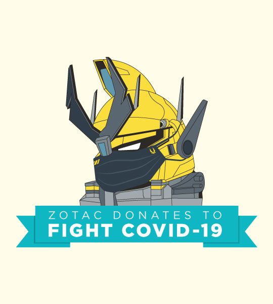 ZOTAC Fights COVID-19