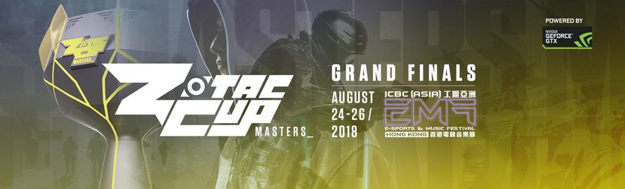 ZOTAC CUP MASTERS CS:GO 2018 CULMINATES AT THE  E-SPORTS & MUSIC FESTIVAL HONG KONG