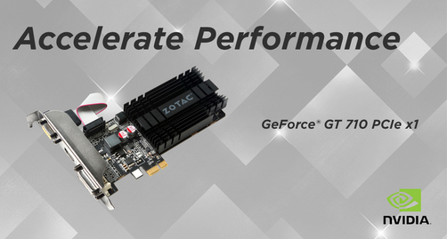 The Power of PCIe x1