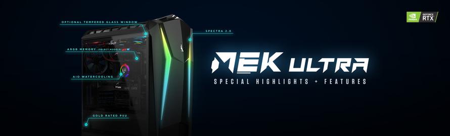 Características especiales y destacadas de MEK Ultra