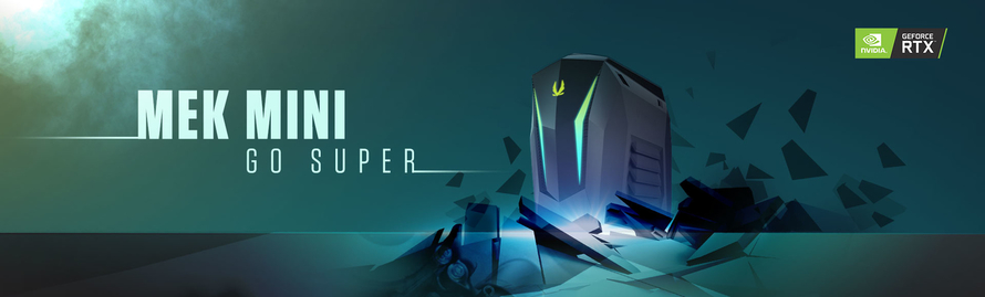 THE SMALL AND STRONG MEK MINI GAMING PC GOES SUPER