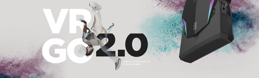 VR GO 2.0 背包电脑释放全新力量 尽情舞动于零延迟世界