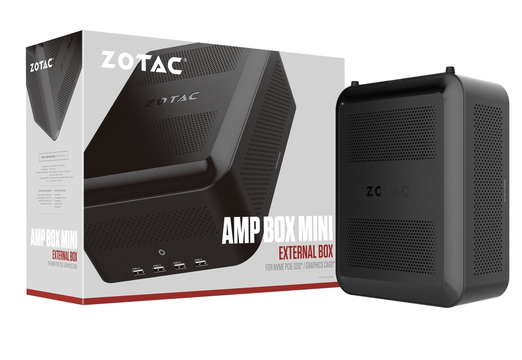 AMP BOX Mini (230W w/ 6-pin connector)