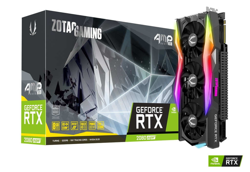 ZOTAC GAMING GeForce RTX 2080 SUPER AMP CORE RGB