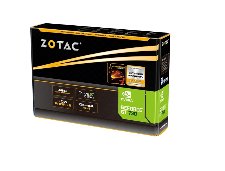 GeForce® GT 730 4GB Zone Edition
