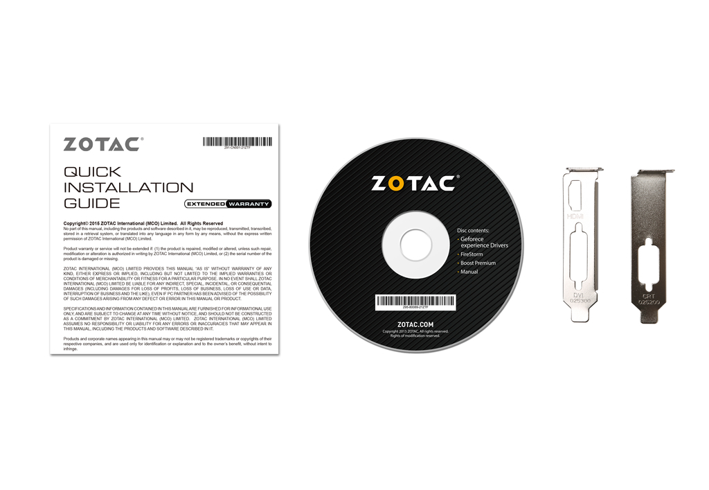 GeForce® GT 710 1GB PCIE x 1