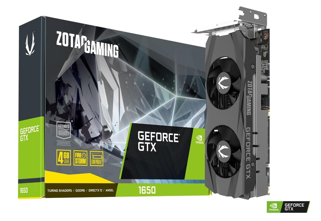 ZOTAC GAMING GeForce GTX 1650 Low Profile GDDR6