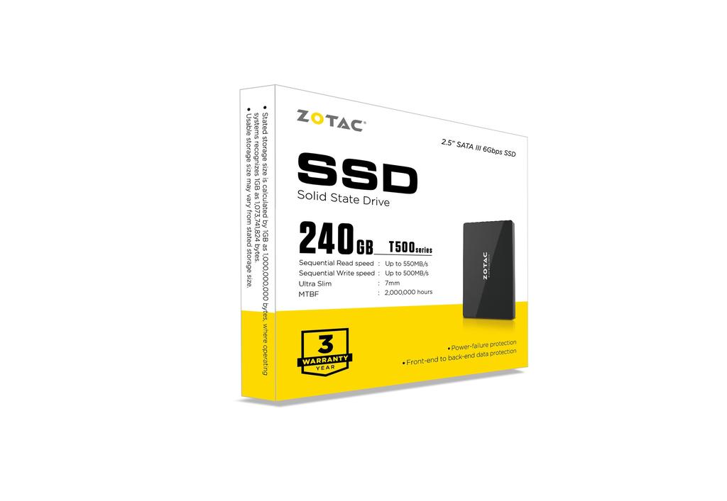 ZOTAC T500 240GB SSD